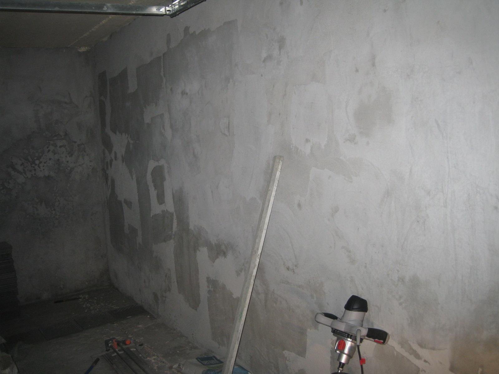 Известковая штукатурка на стенах