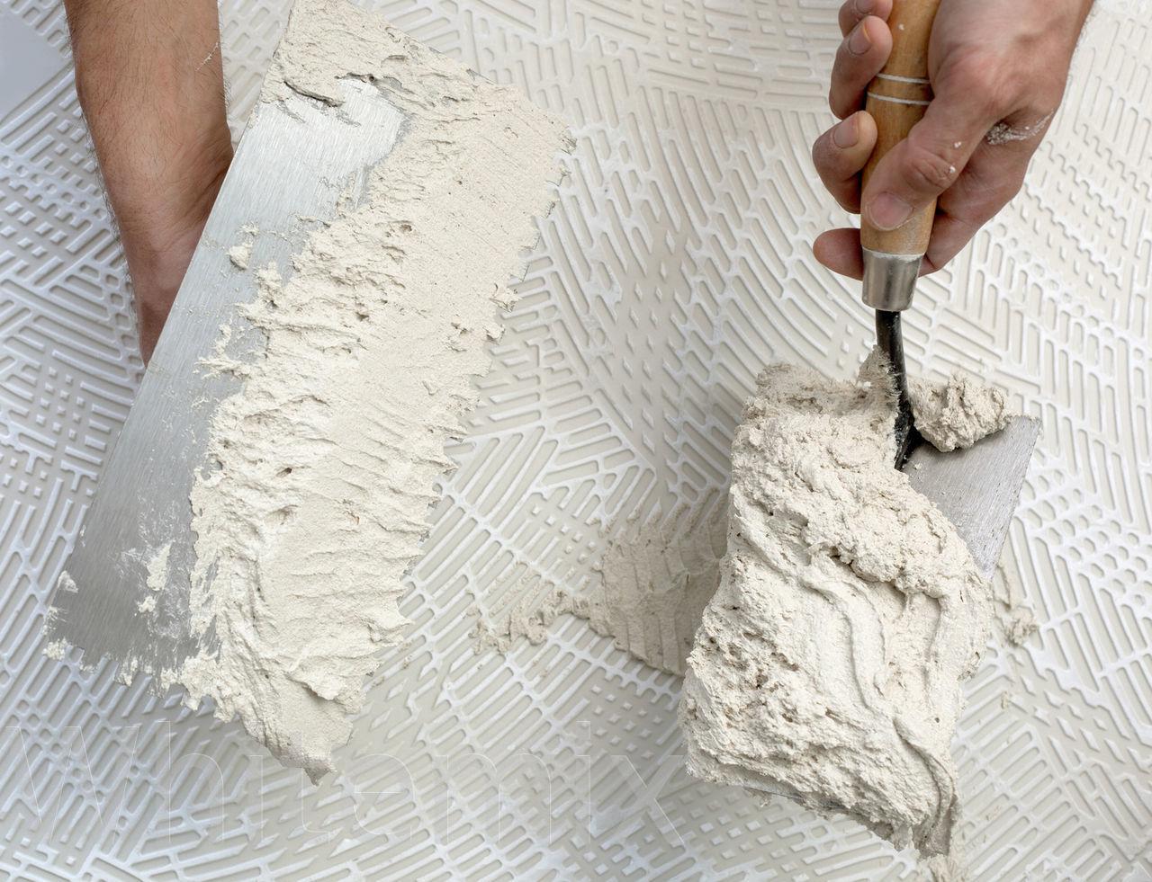Приготовление декоративной штукатурки