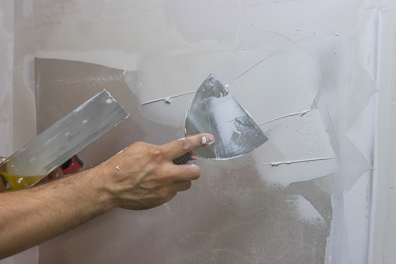 Шпаклевка бетонных стен