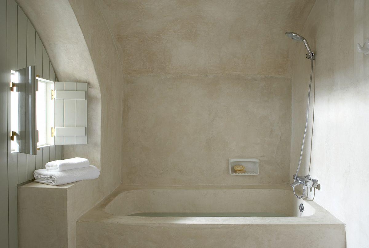 Штукатурка гипсовая в ванной