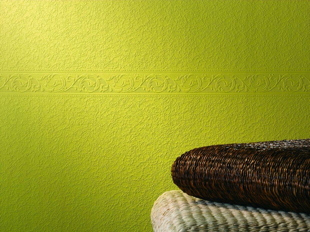 Стеклообои на стенах