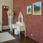 Венецианская штукатурка в комнате