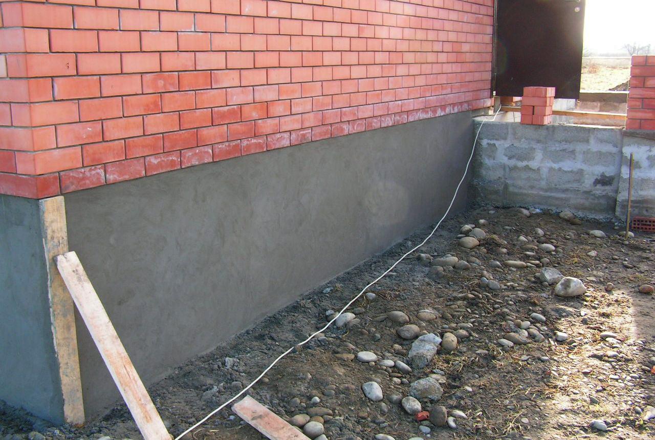 Фото бетонного цоколя