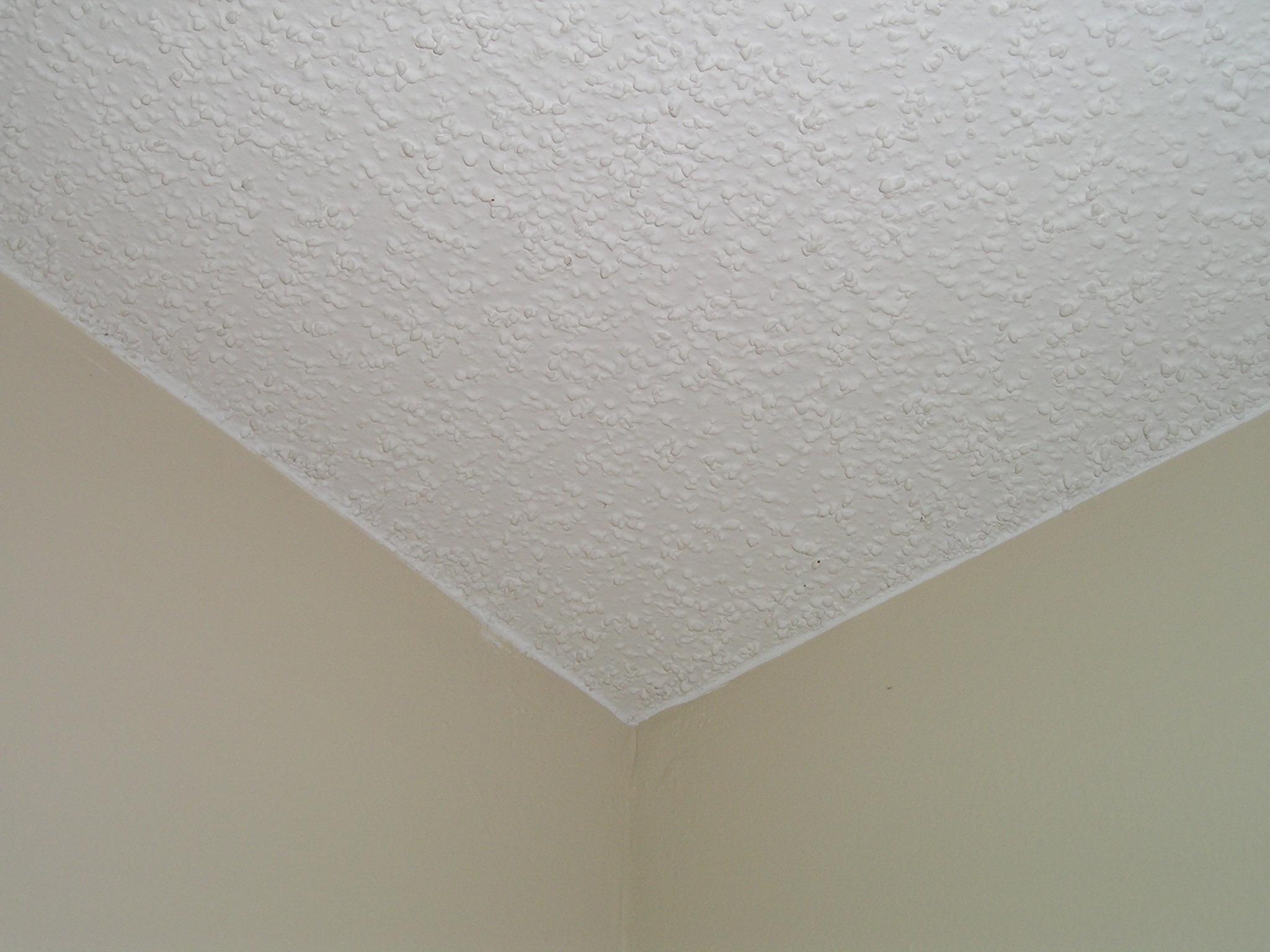 Штукатурка на потолке
