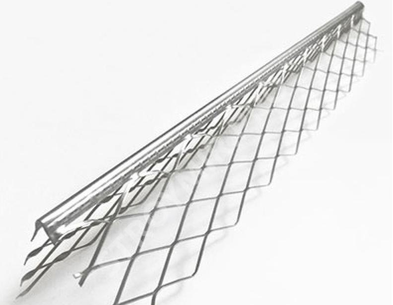 Уголок металлический с сеткой