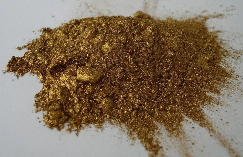 Фото бронзового порошка