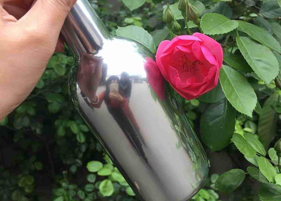 Хромированная бутылка