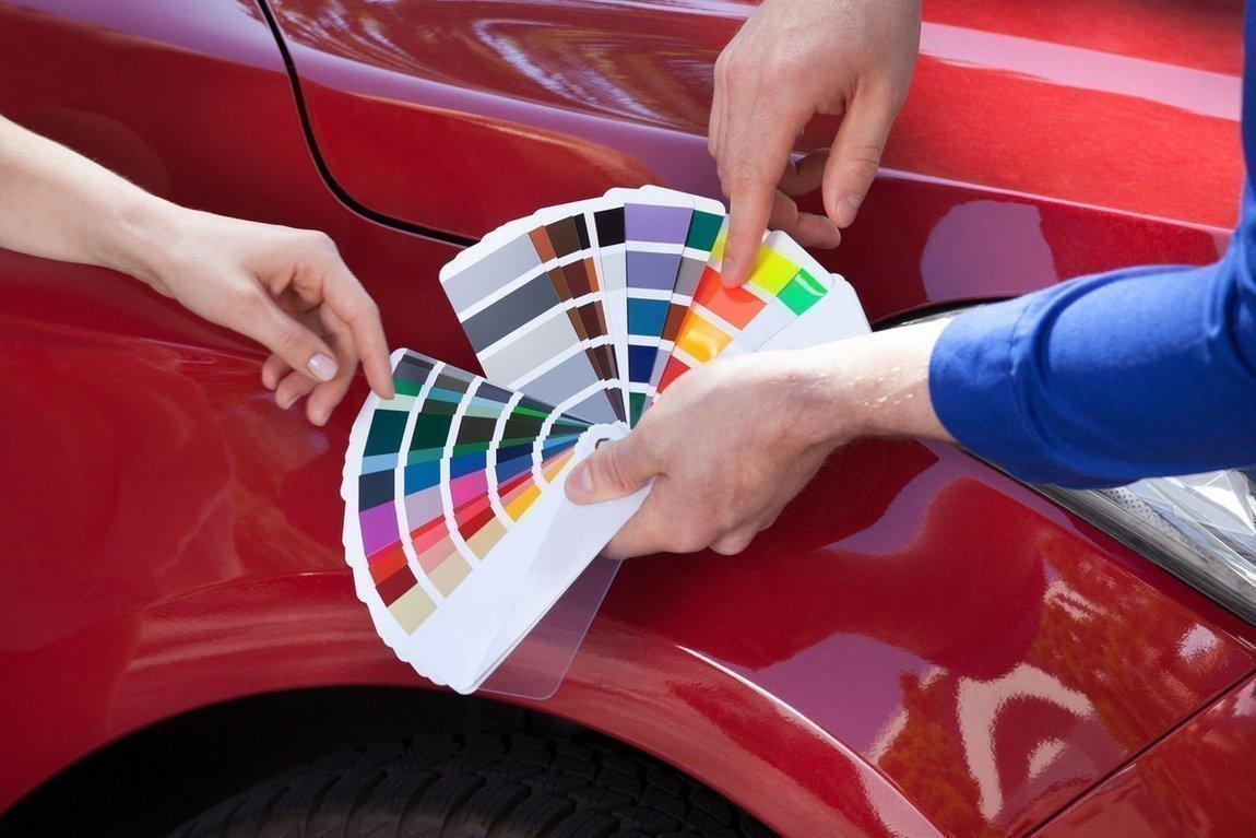 Цветовая гамма красок