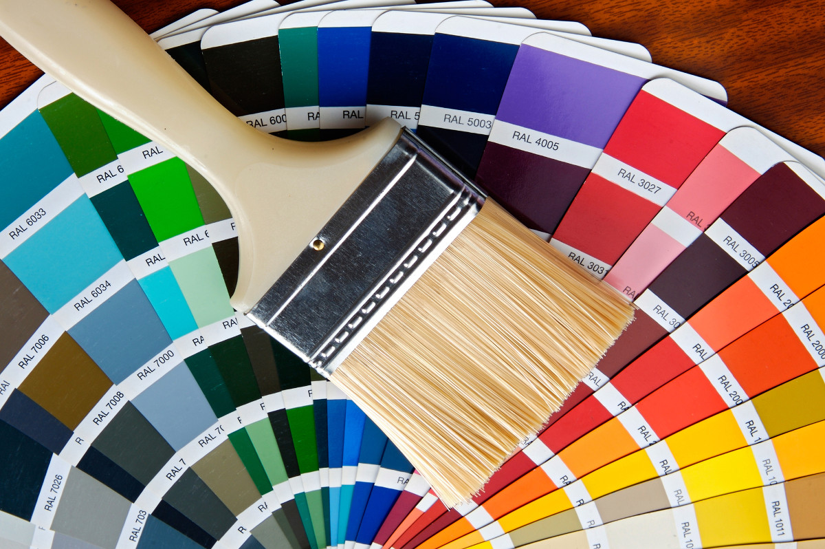 Фото цветовой палитры