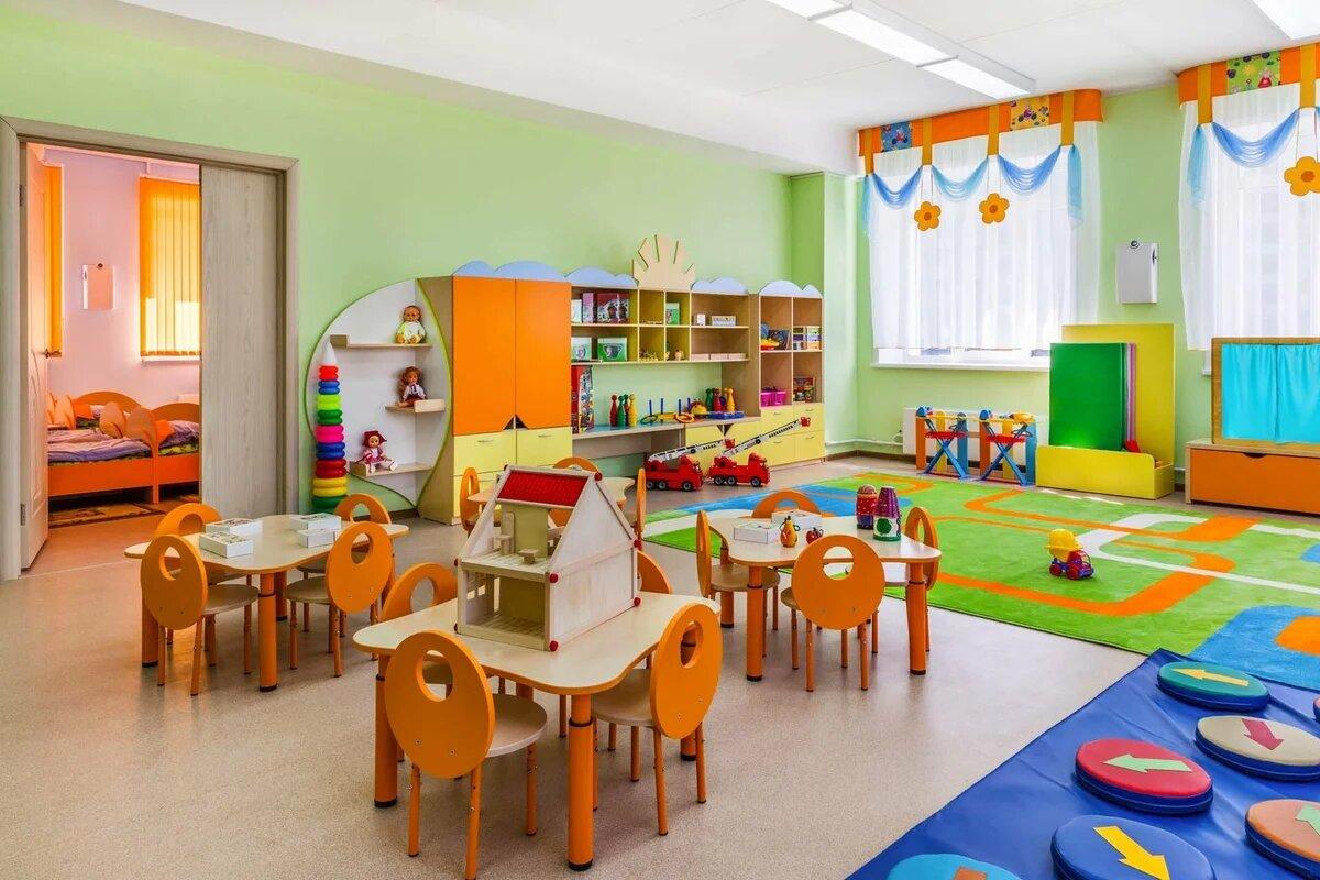 Комната детского сада