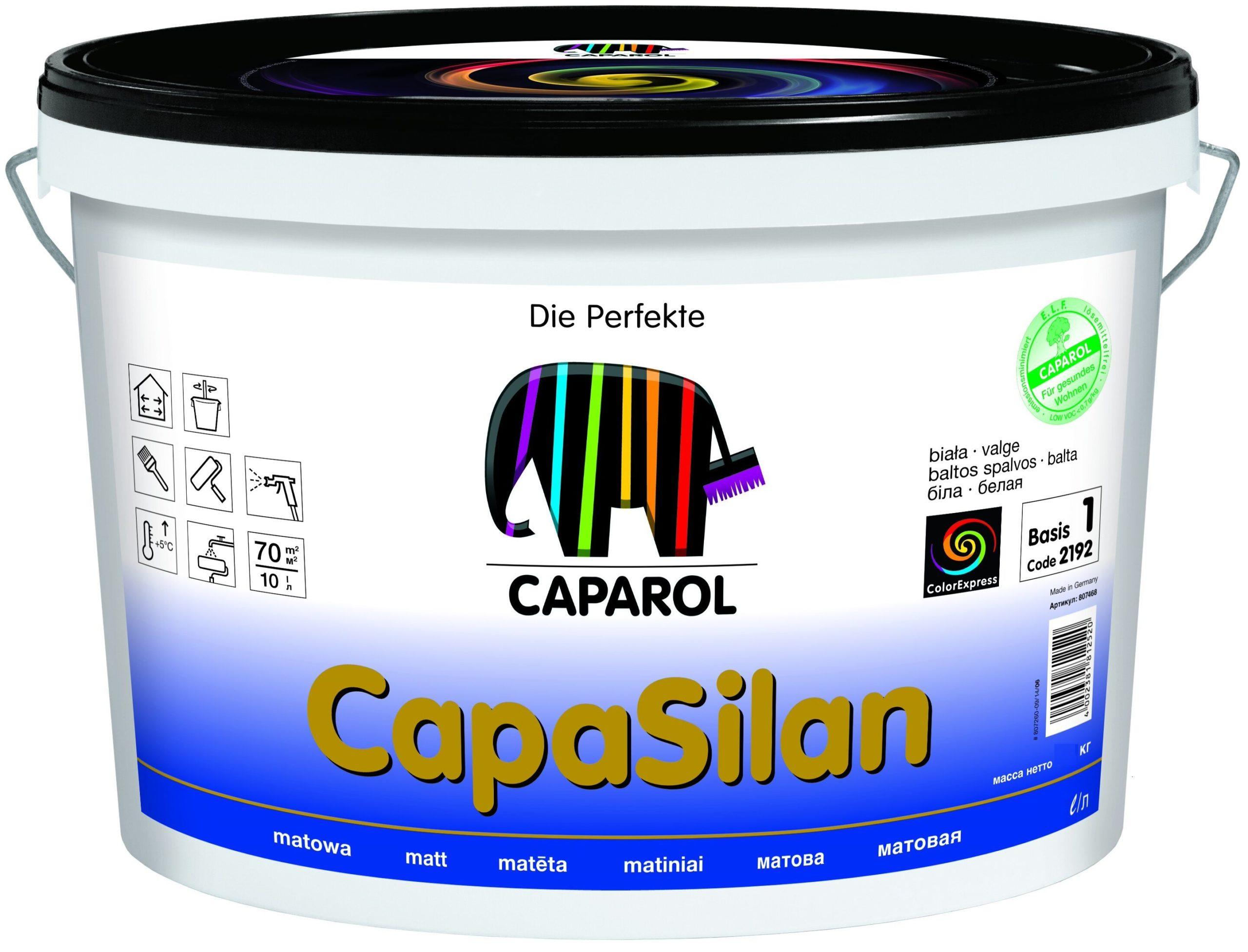 Краска Caparol с полимерными смолами