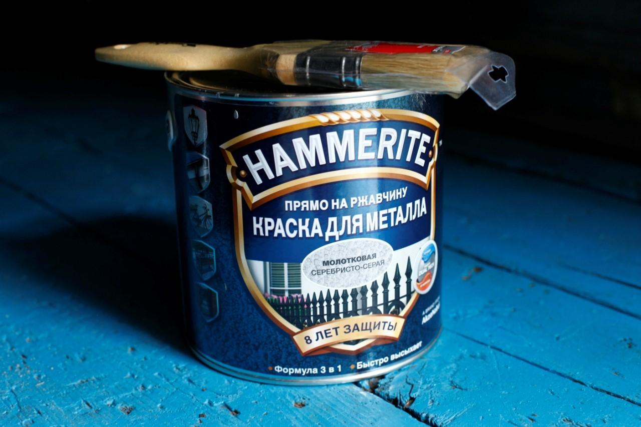 Фото краски Hammerajt