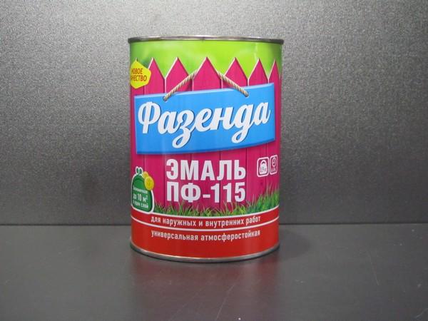 Краска ПФ-115 Фазенда