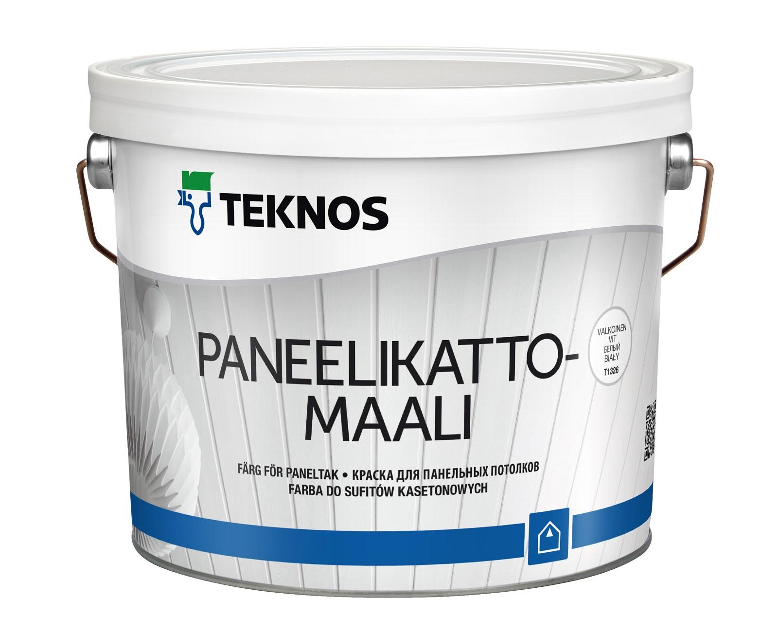 Краска Teknos PANEELIKATTOMAAL