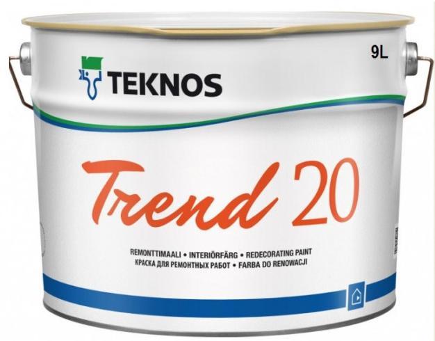 Фото краски Teknos Trend