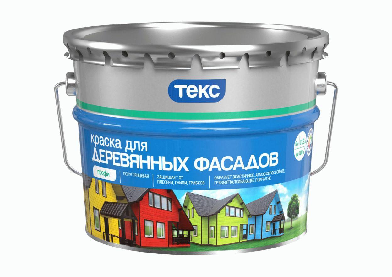 Фасадная краска Текс