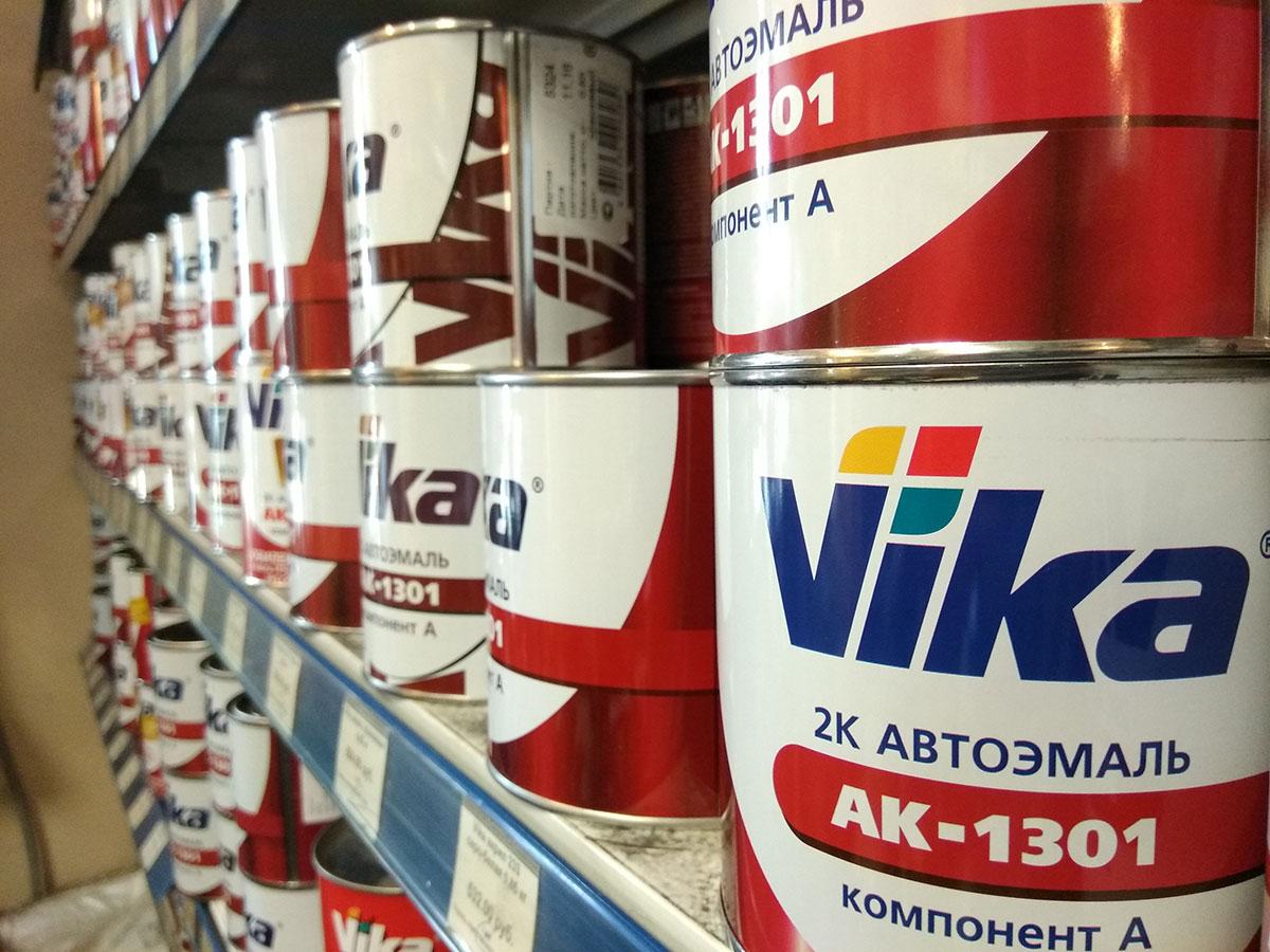 Краски Vika в магазине