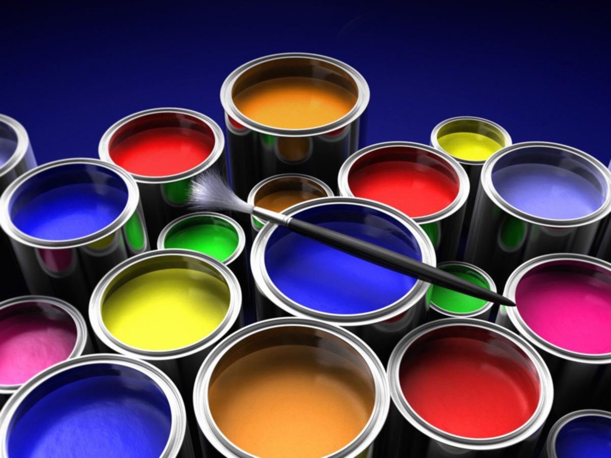 Фото красок в банках
