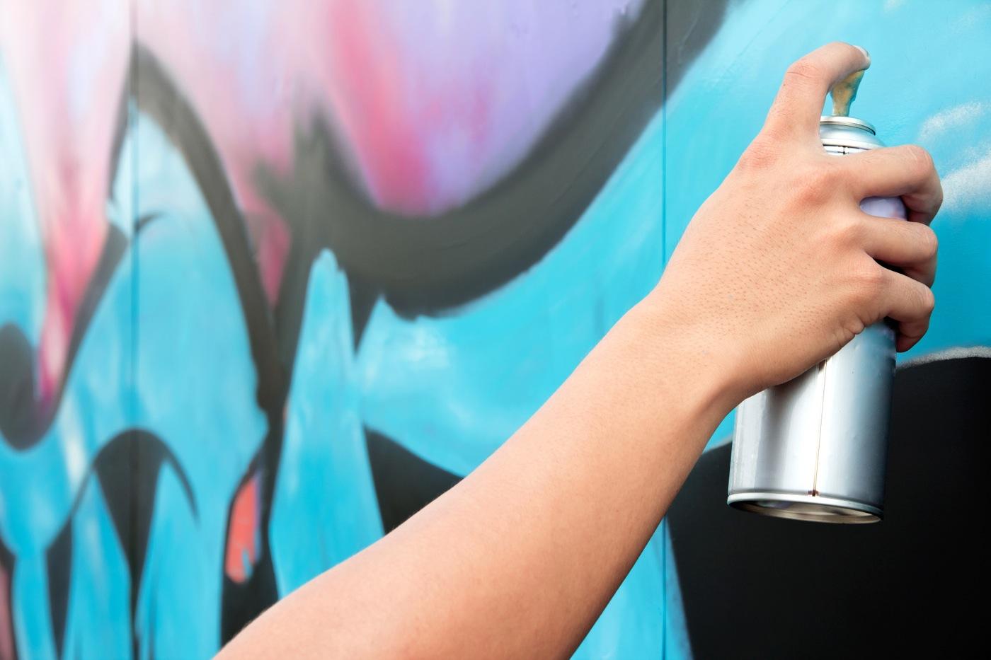 Нанесение аэрозольной краски