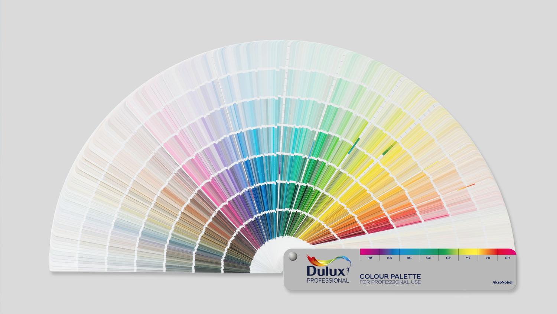 Палитра красок Dulux