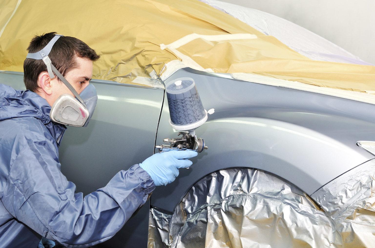 Как проводится покраска автомобиля в автосервисе
