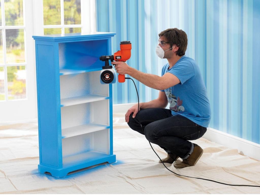 Покраска шкафчика