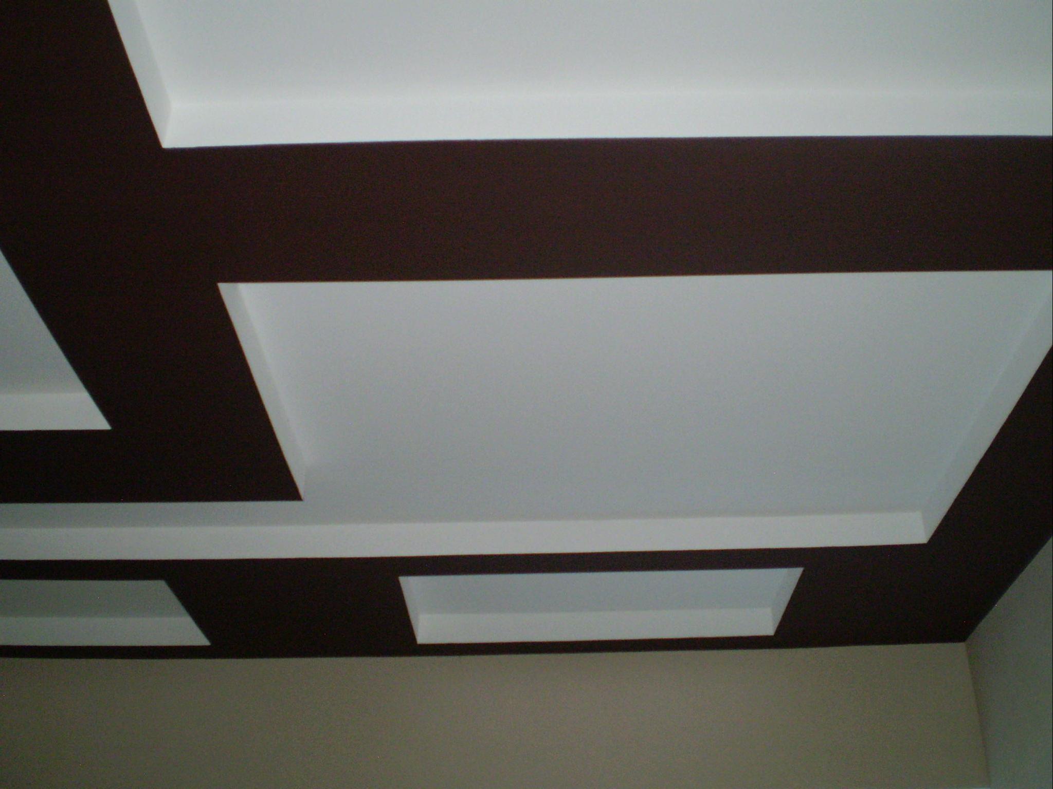 Потолок крашенный