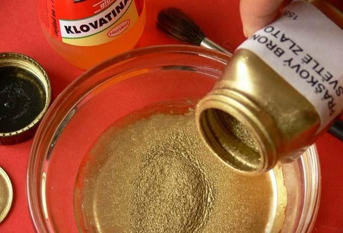 Приготовление бронзовой краски