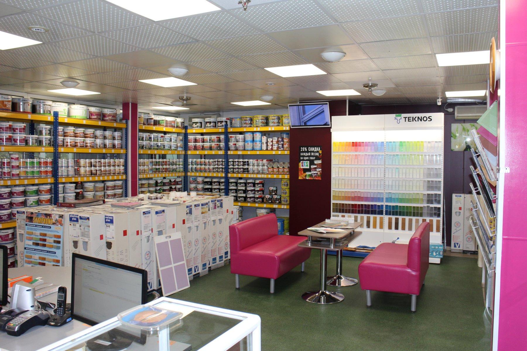 Продукция Teknos в магазине