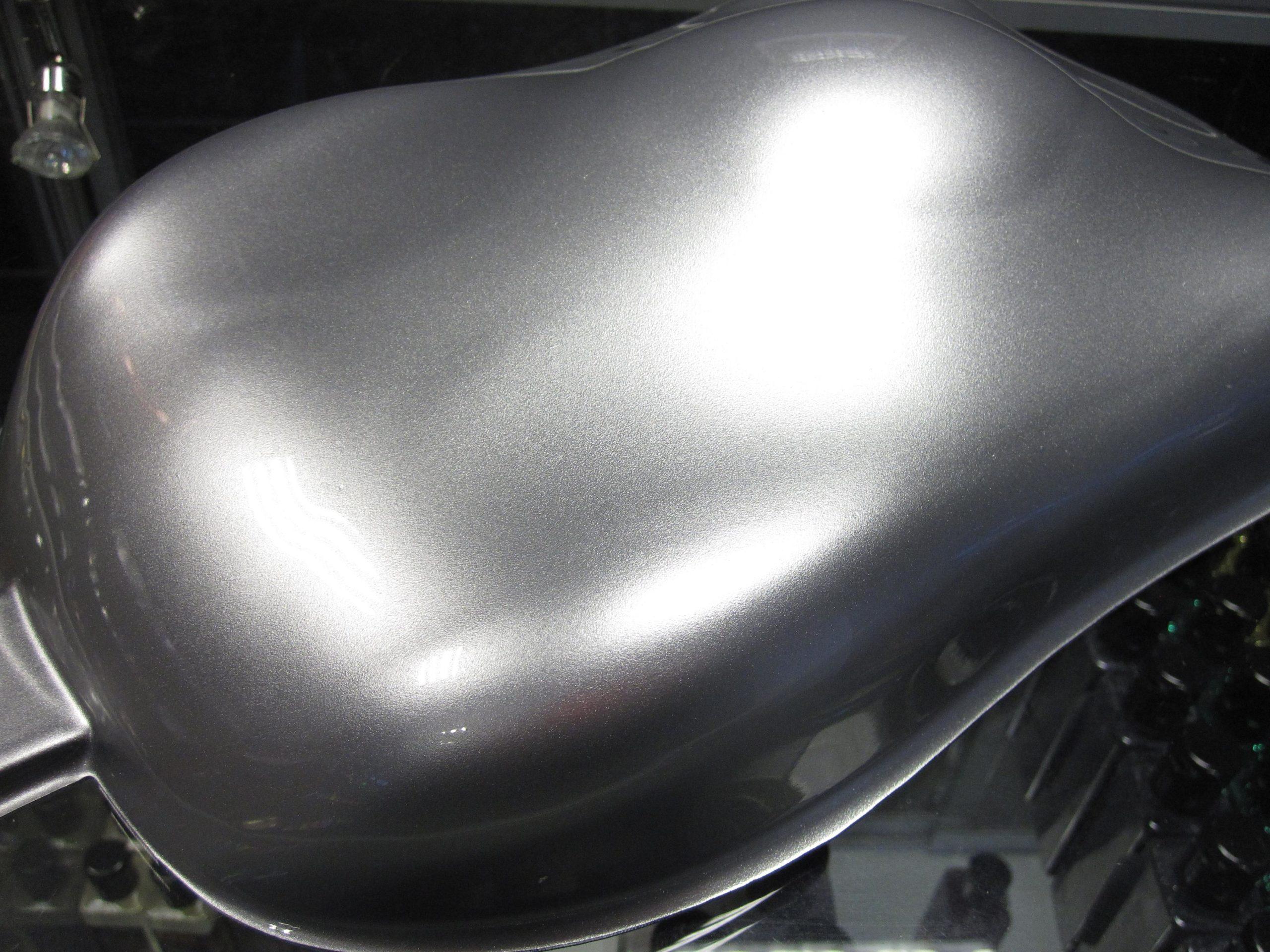 Серебрянка на металле