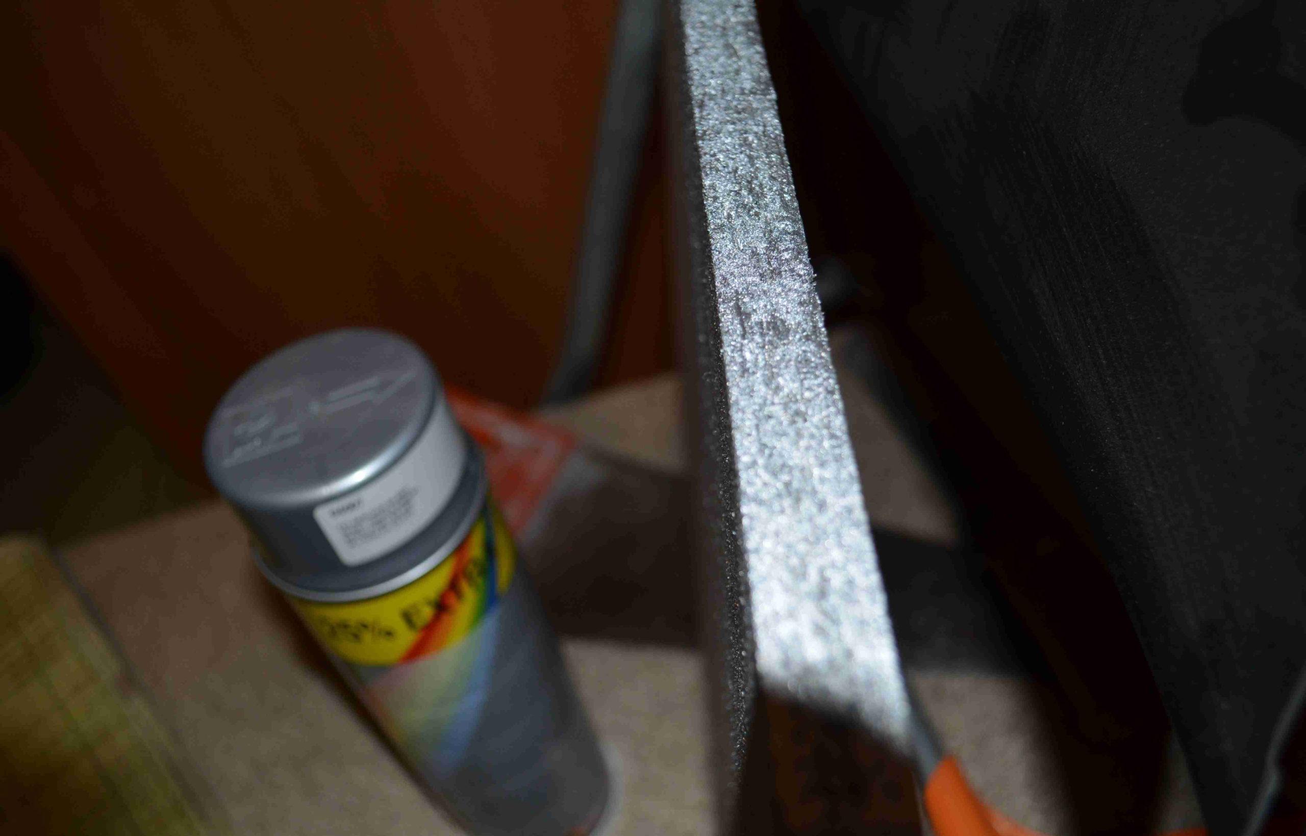 Фото серебрянки по металлу