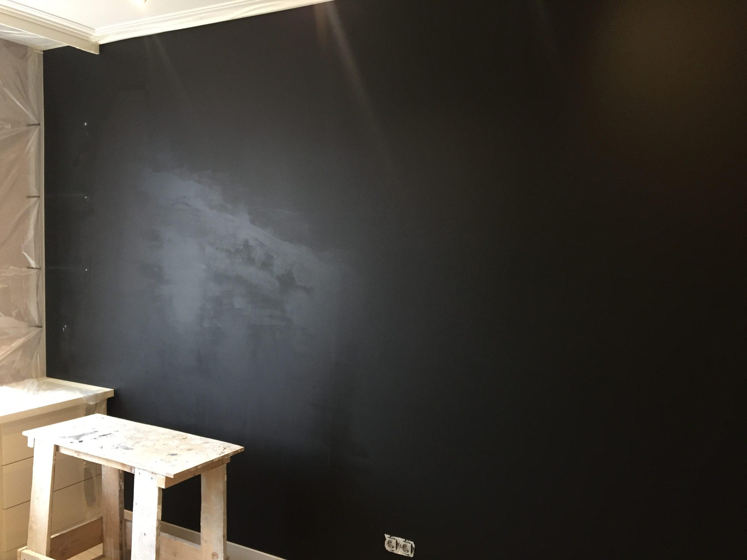 Фото грифельной стены