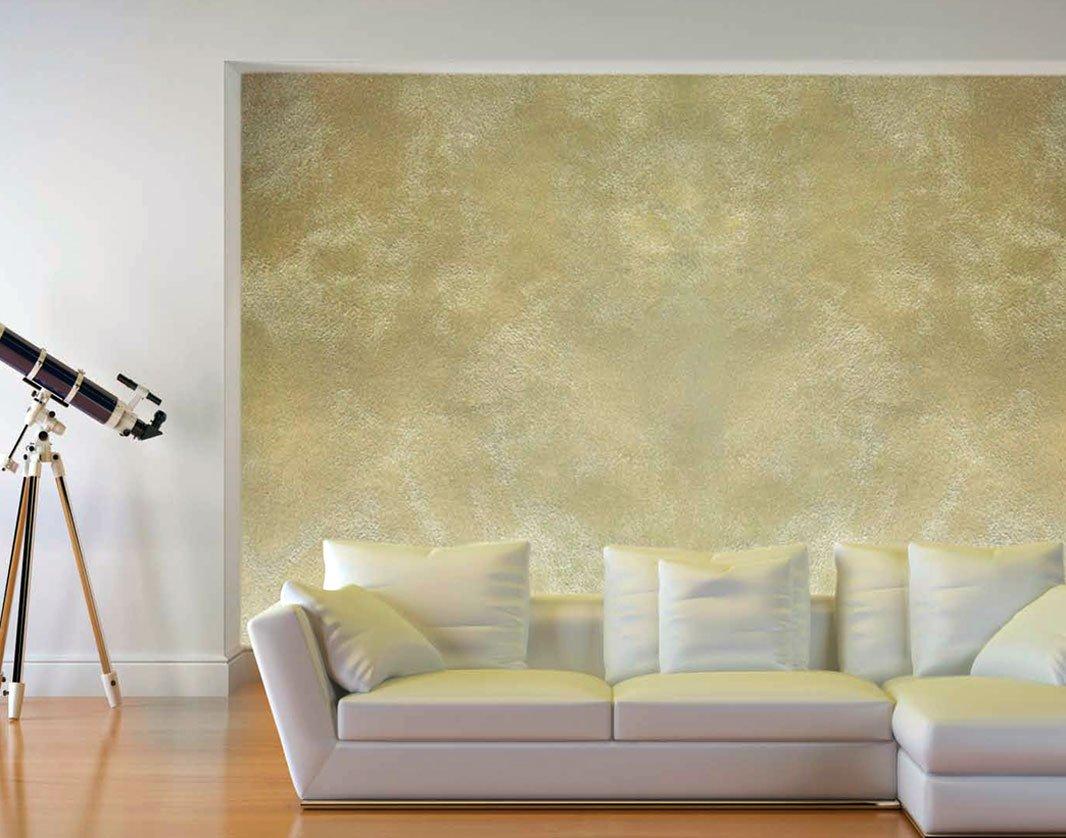 Стена с декоративной краской