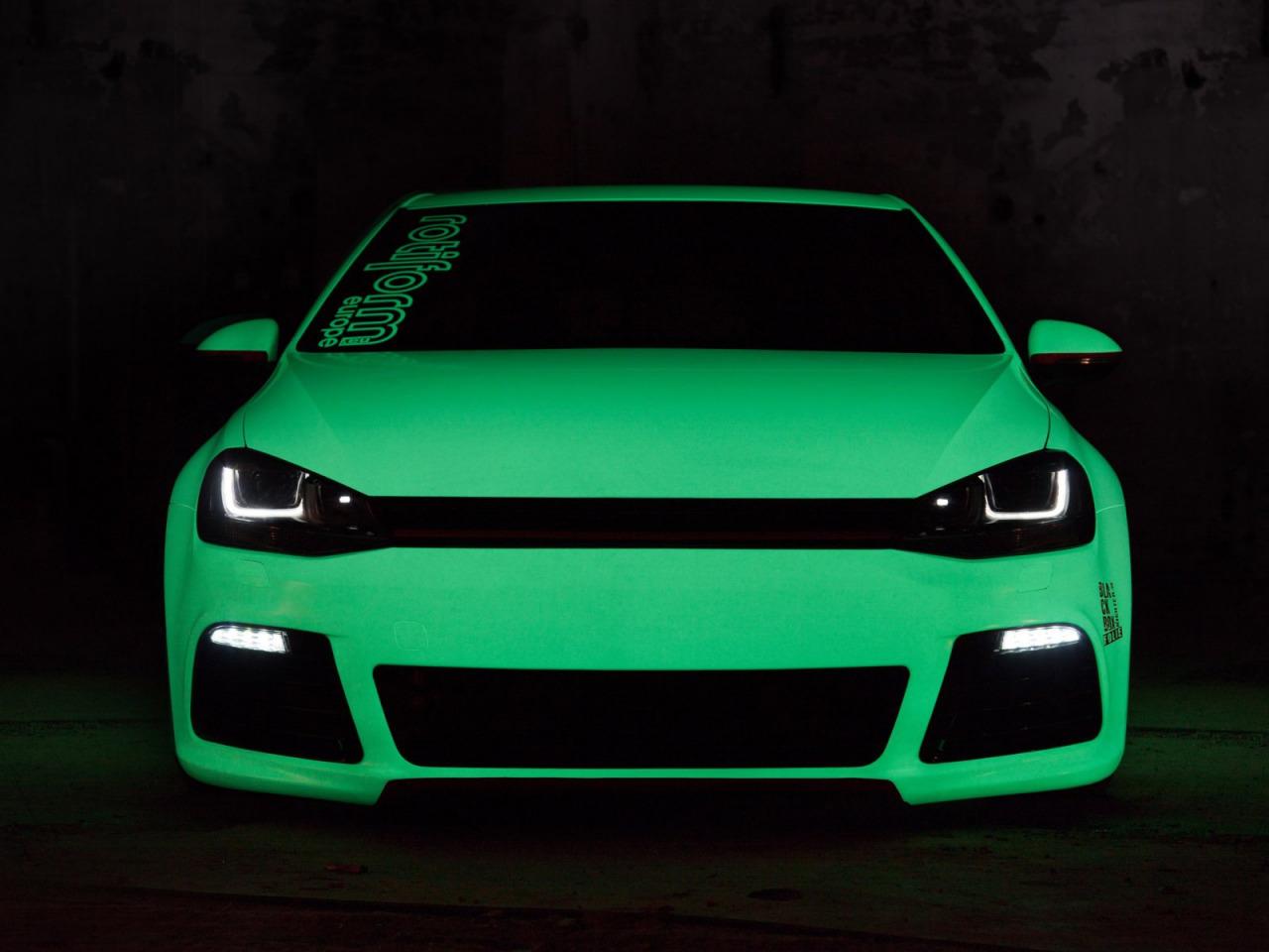 Светящаяся краска для авто