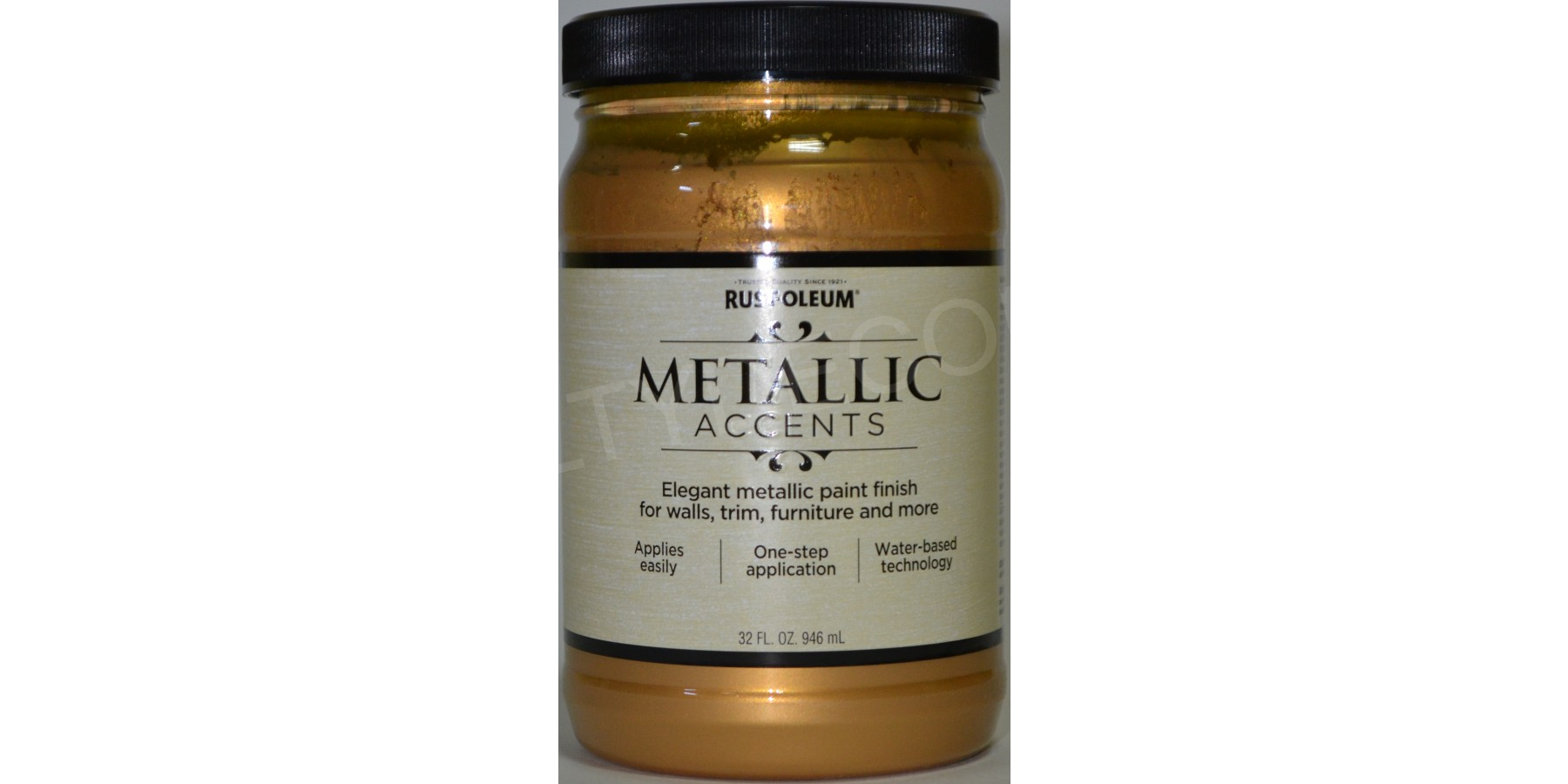 Фото золотой краски Metallic Accents