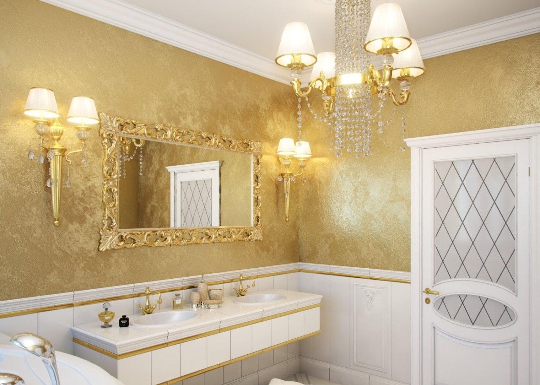 язык покрасить кафель в золото фото жарке