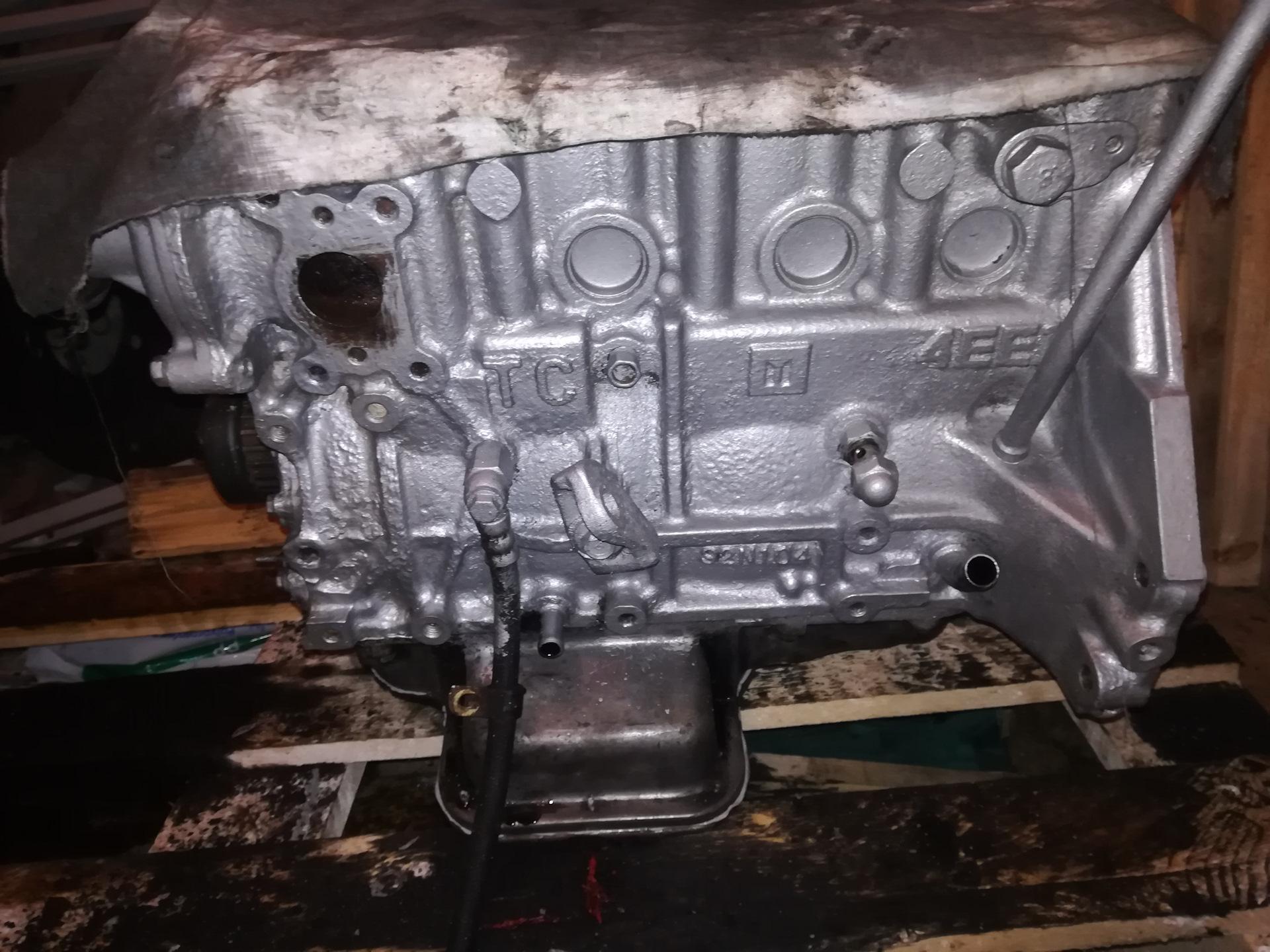 Двигатель с серебрянкой