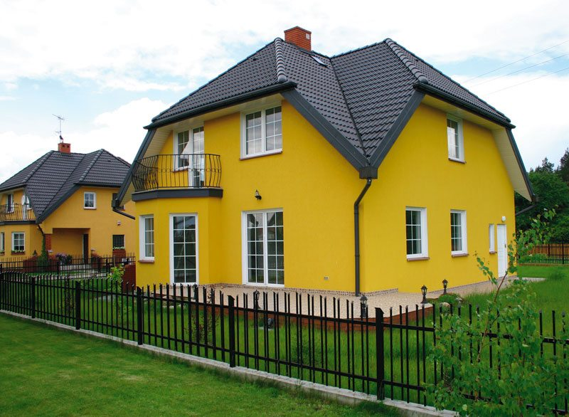 Фото фасада дома
