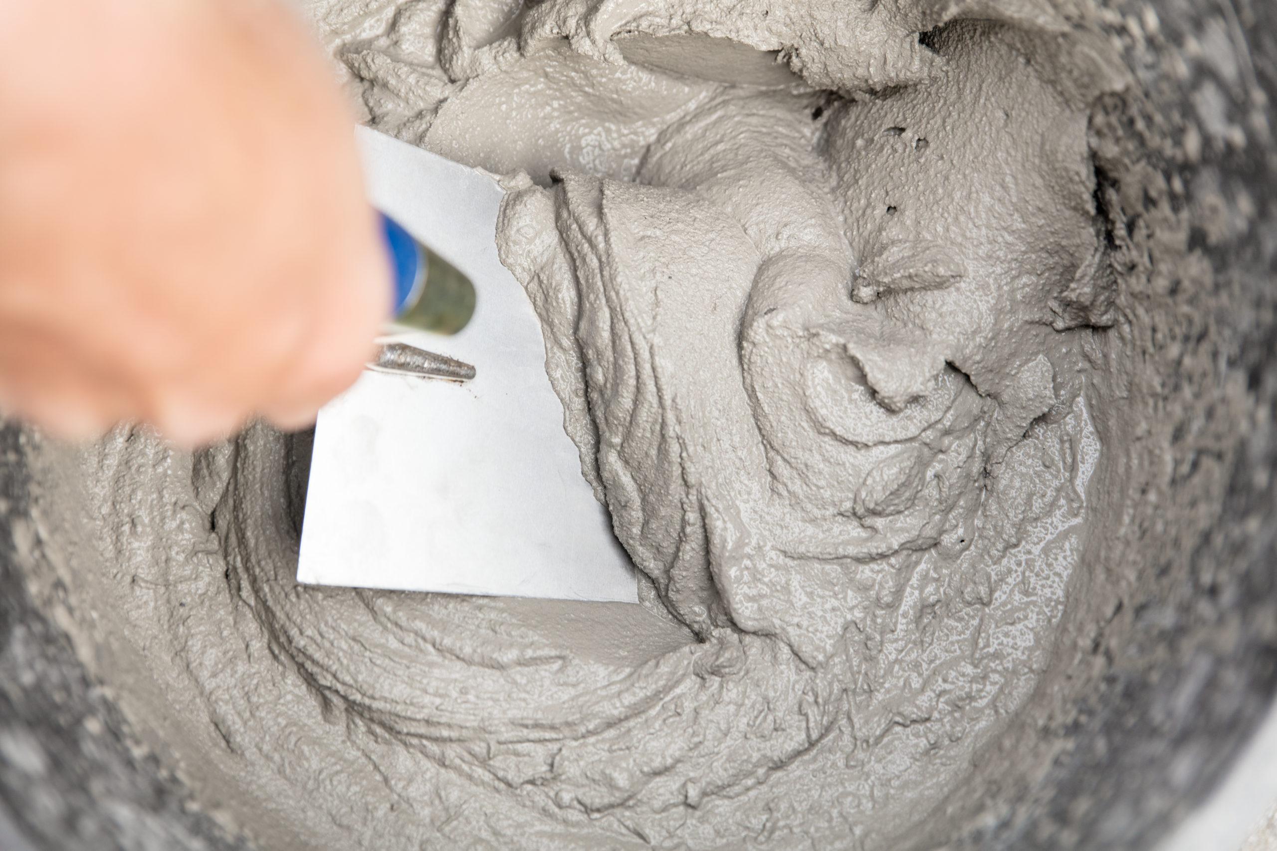 Фото цементного раствора