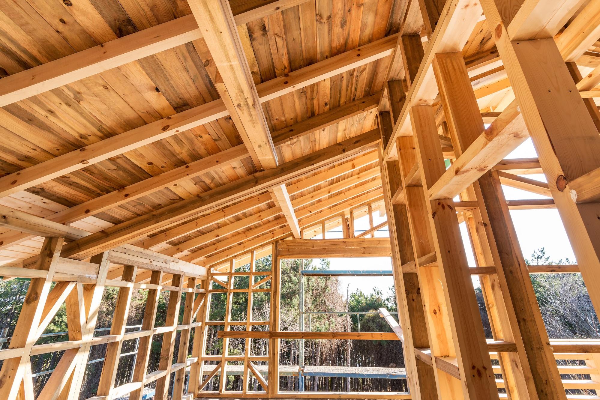 Фото деревянного каркаса