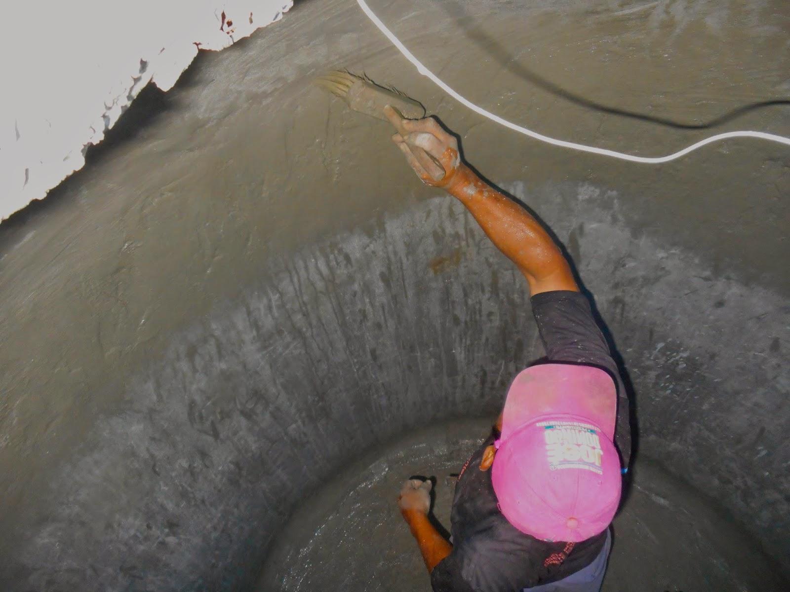 Фото гидроизоляции колодца