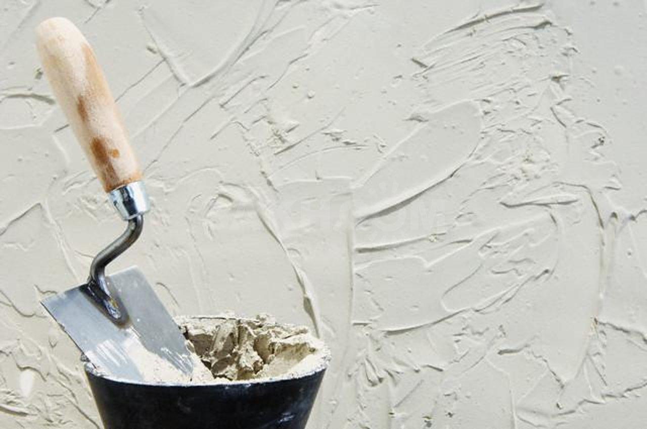 Гипсовая шпаклевка на стене