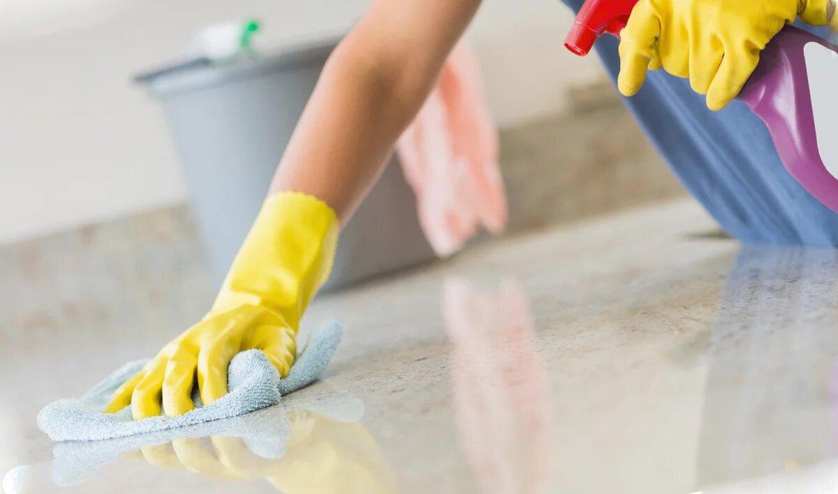 Мытье пола
