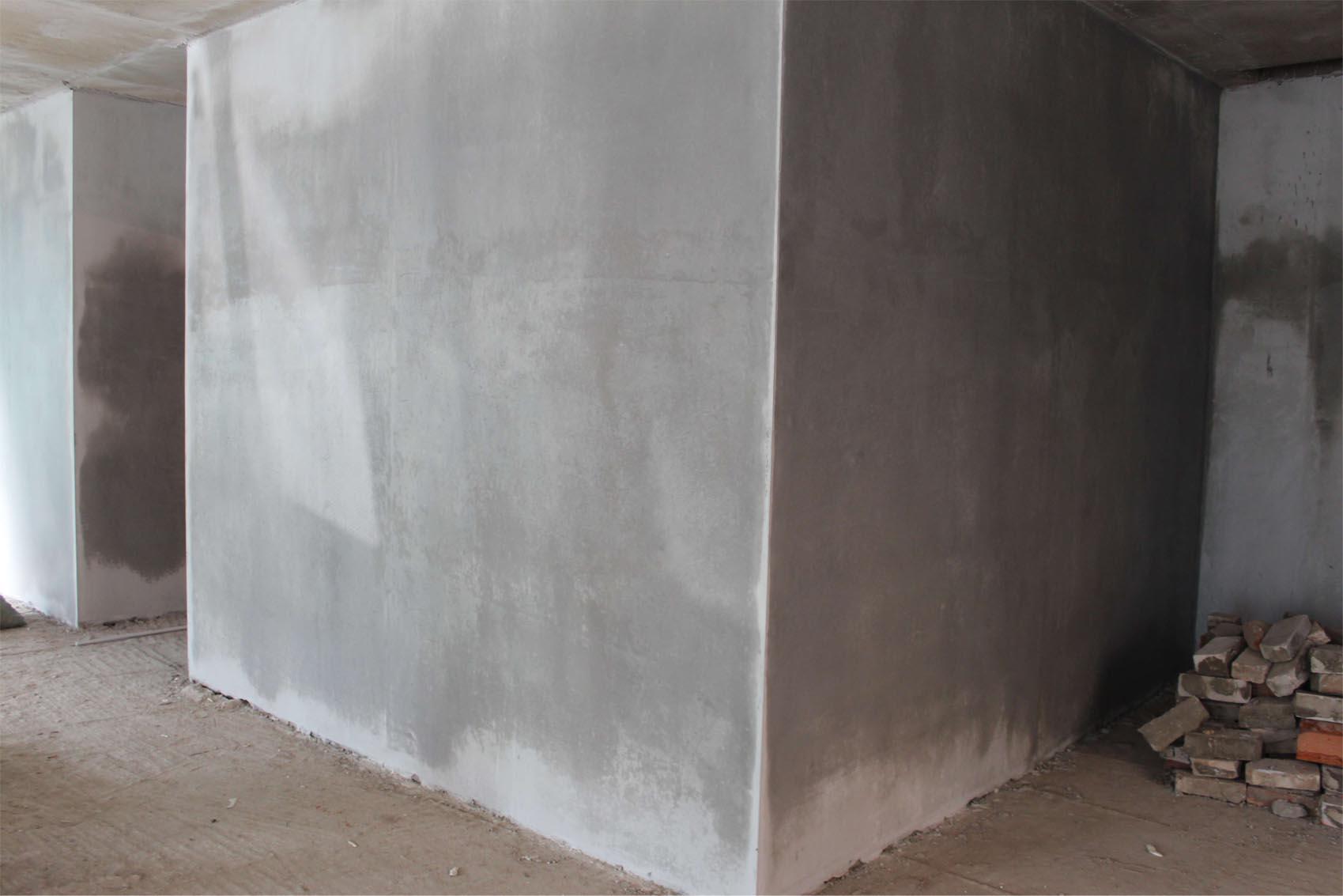 Оштукатуренные стены