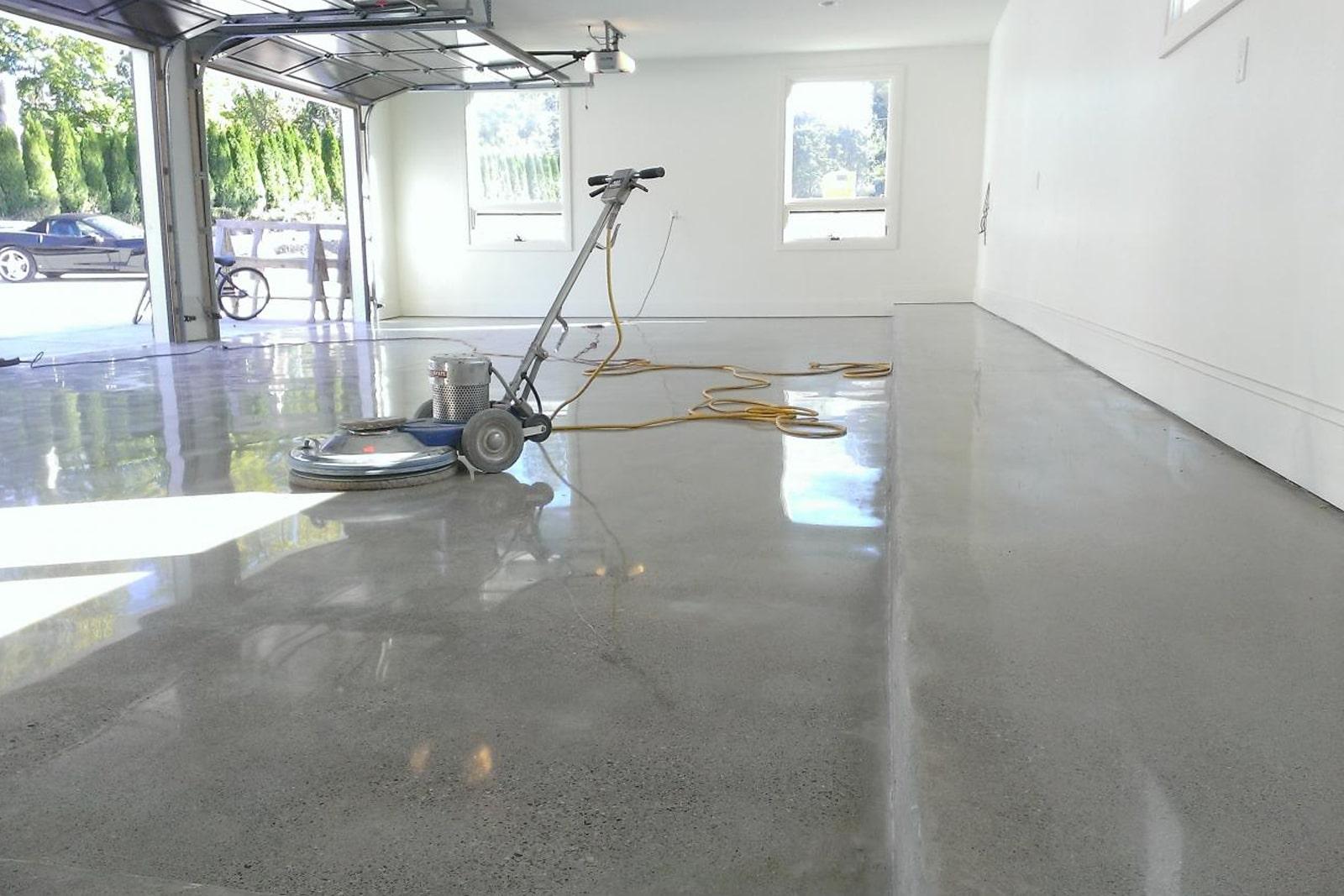 Пол бетонный