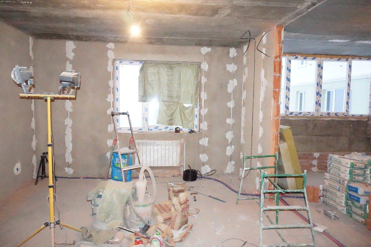 Фото штукатурки стен