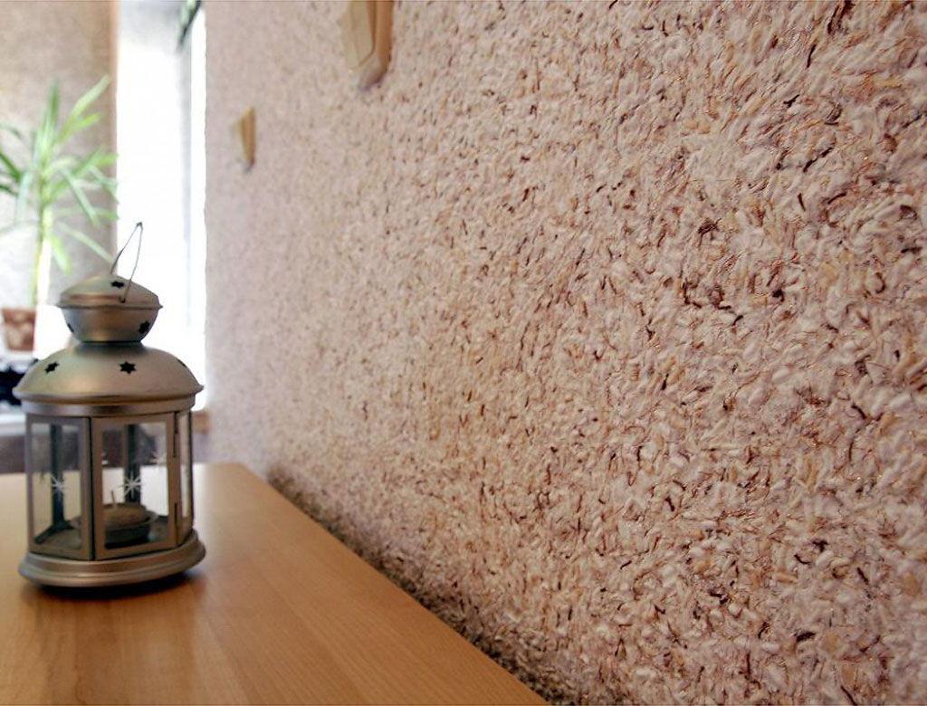 Фото шелковых жидких обоев