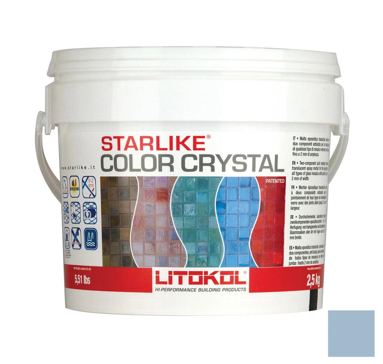 Затирка Litokol Starlajk Kolor Kristal