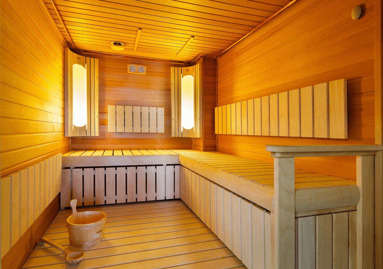 Фото бани внутри