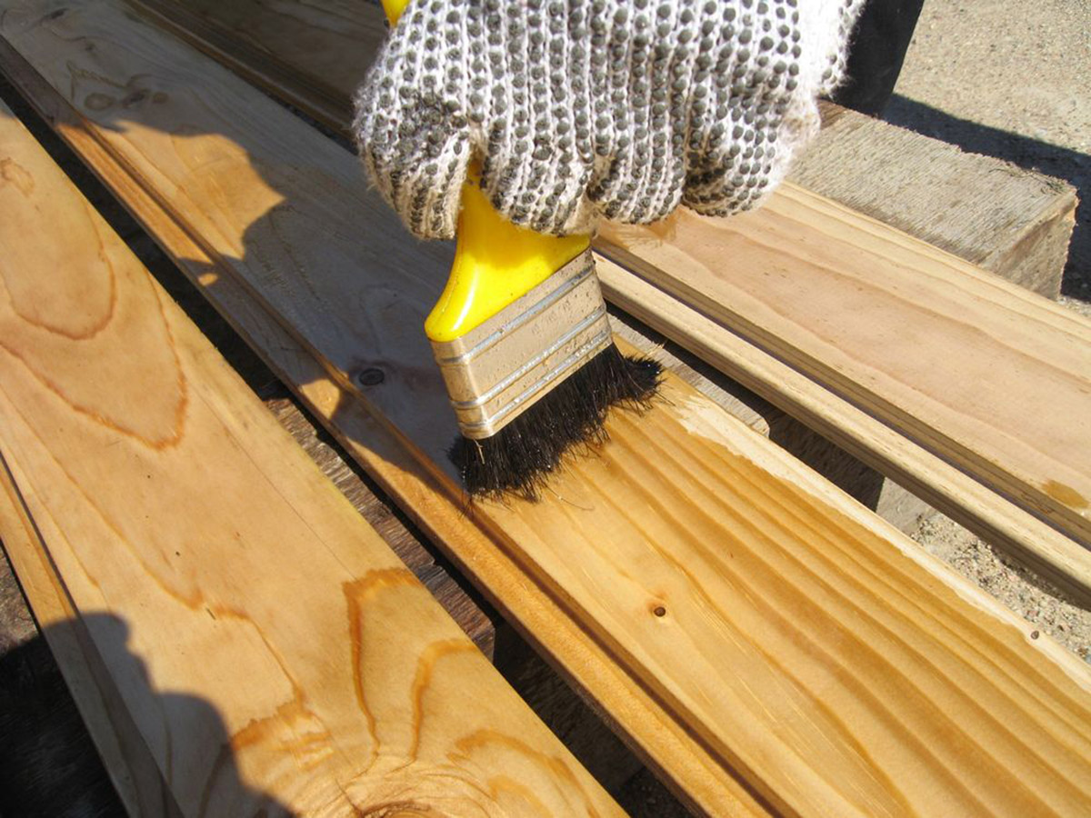 Обработка деревянных досок